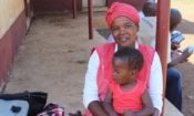Setsabile and her son Njabulo. (Credit World Vision)