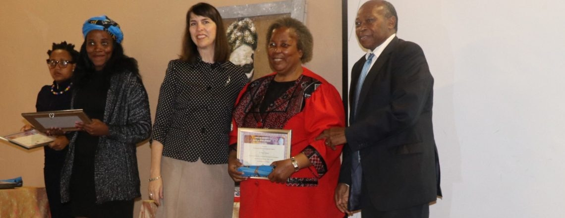 Ambassador Peterson launches the inaugural of the Online magazine profiling 50 Swati women